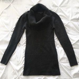 Forever 21 | Dark Grey Cowl Neck Tunic Sweater